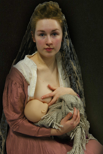claire doyle, lancashire fringe festival, breastfeeding