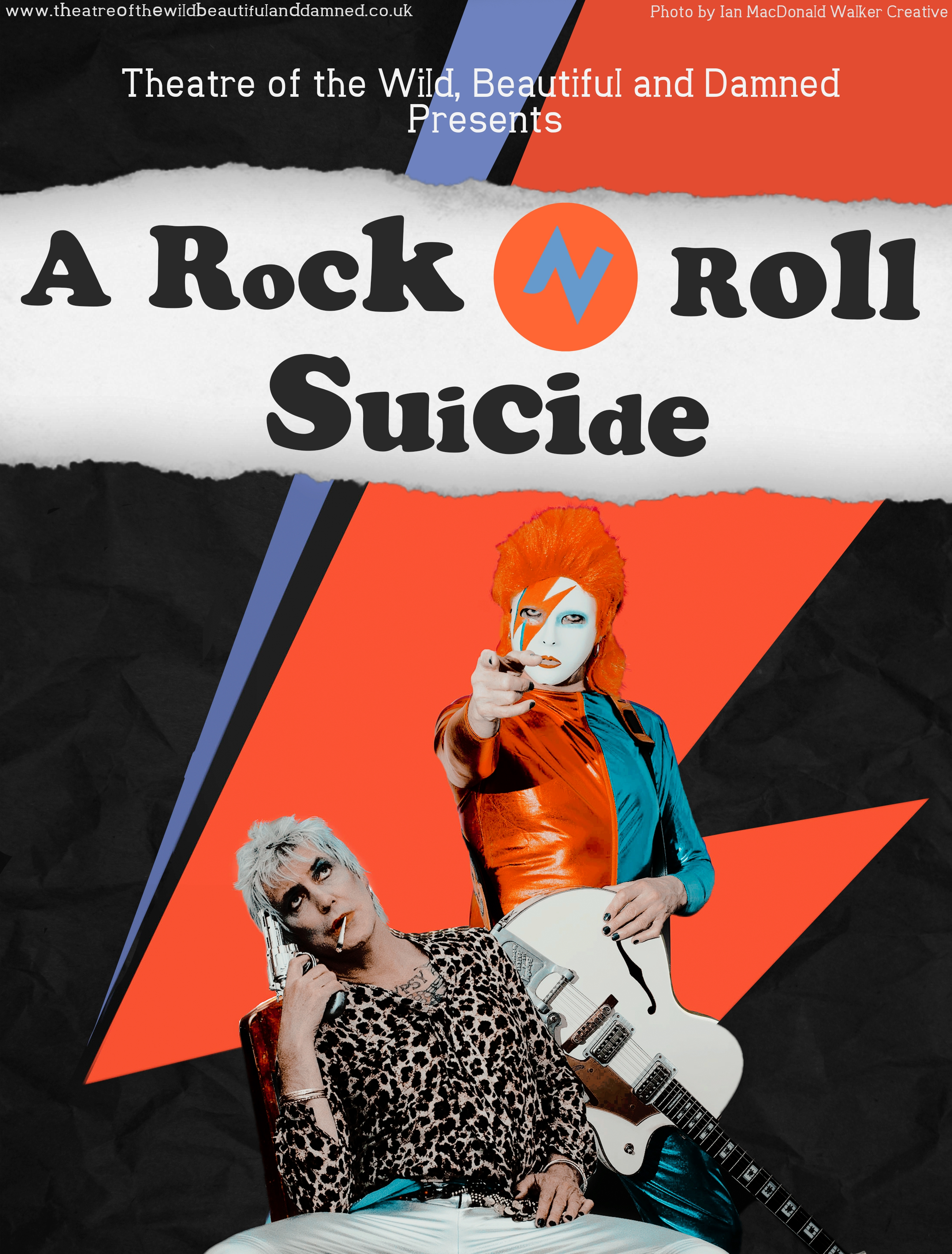 A Rock N Roll Suicide poster & flyer